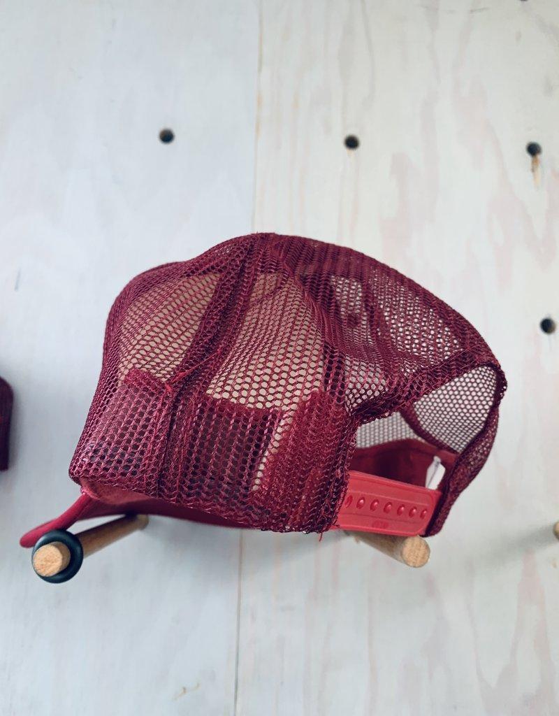 EskyFlavor LA Hat Maroon Pink