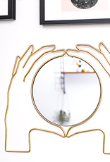 Holding Hands Wall Mirror