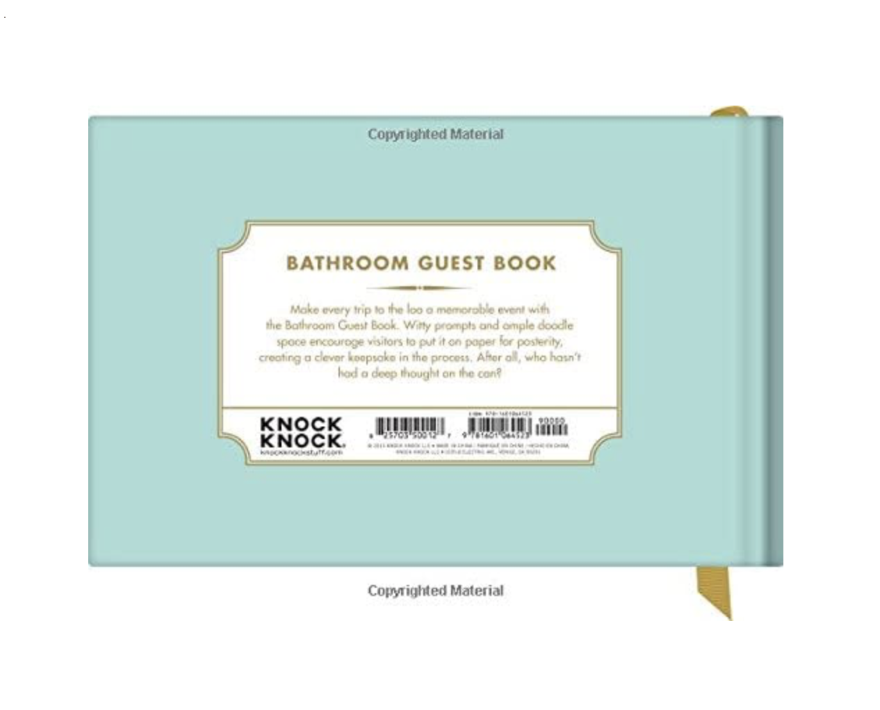 Guest Book: Bathroom