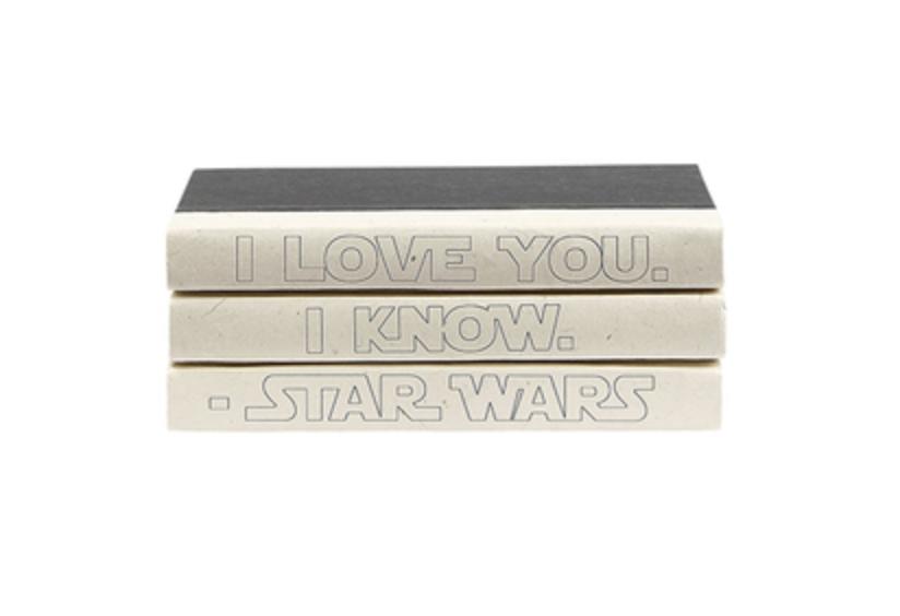 3 Volume I know I love you Star Wars