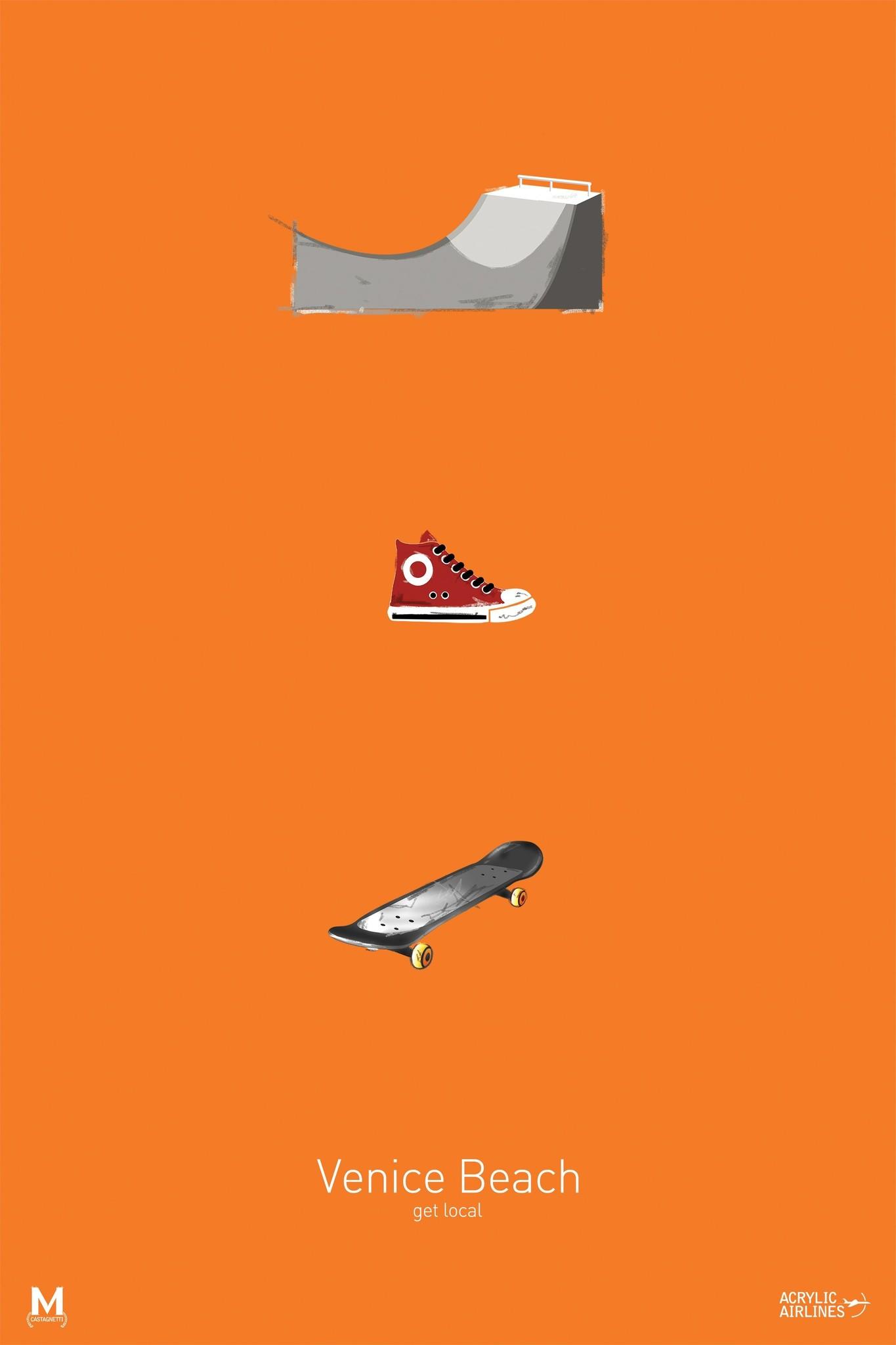 13x19 Skate Poster