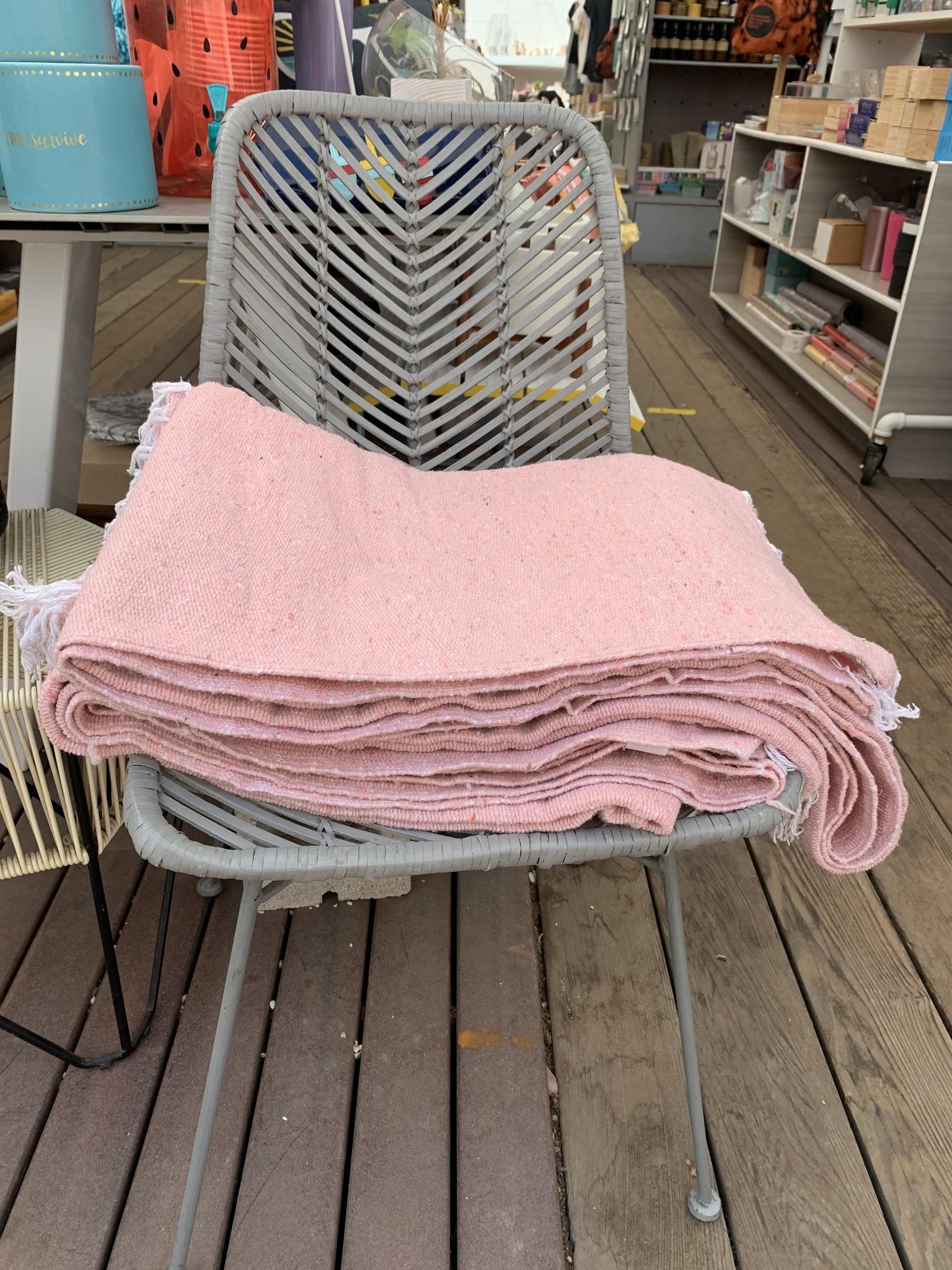 Yoga Blanket color pink