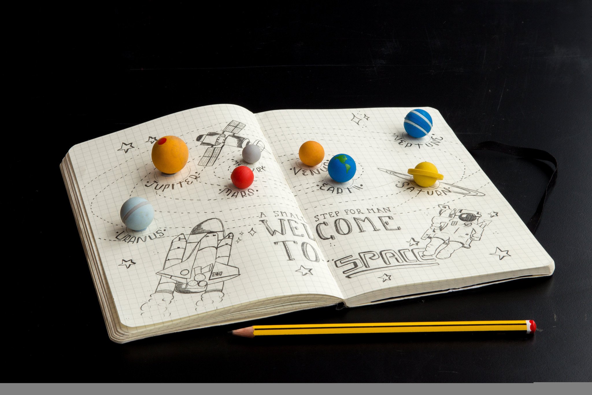 PLANET ERASERS