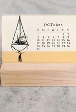 2021 House Plants Mini Desk Calendar