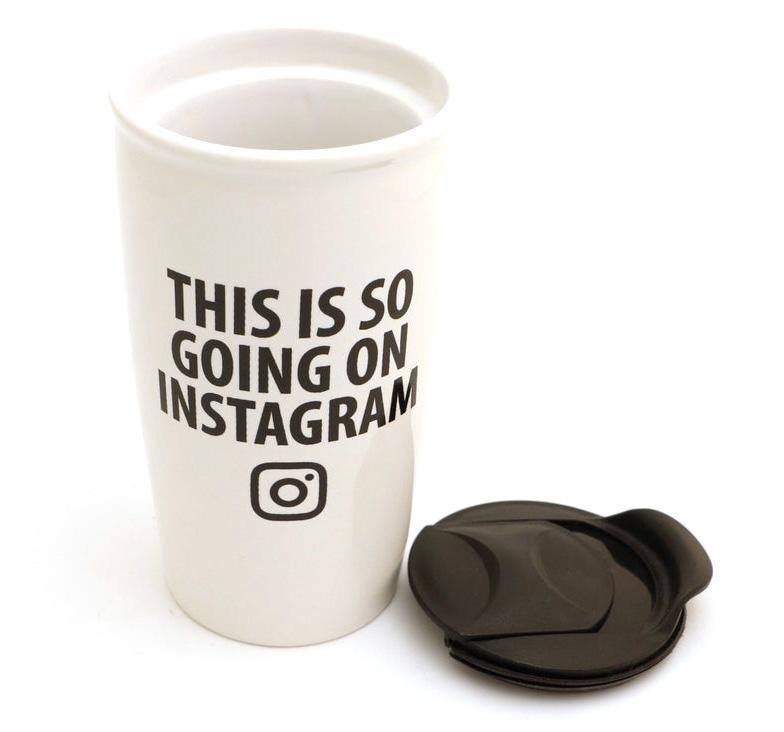 Ceramic coffee mug this is so going on instagram