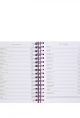 2020-2021 17 month large planner, scallop