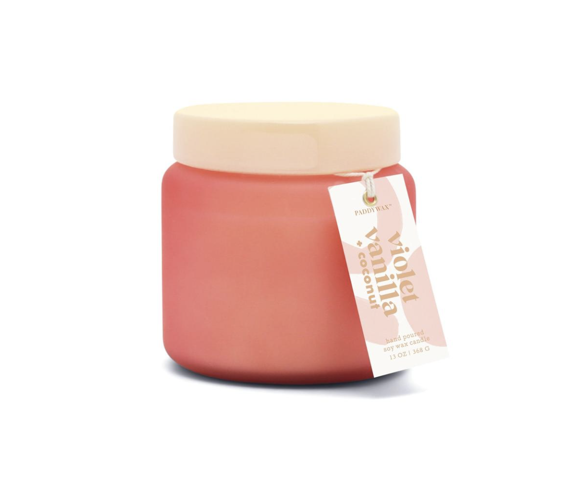 CANDLE WITH LID