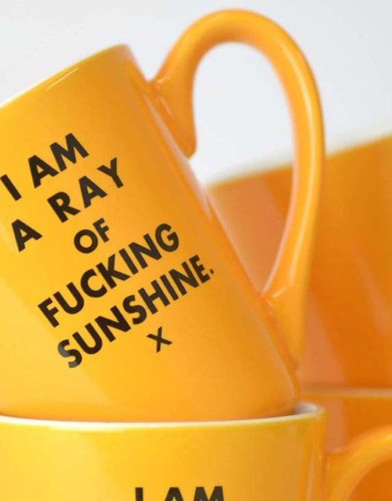 I Am A Ray Of Fucking Sunshine - Ceramic Coffee Mug