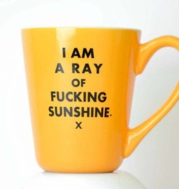 I Am A Ray Of Fucking Sunshine - Ceramic Coffee Mug