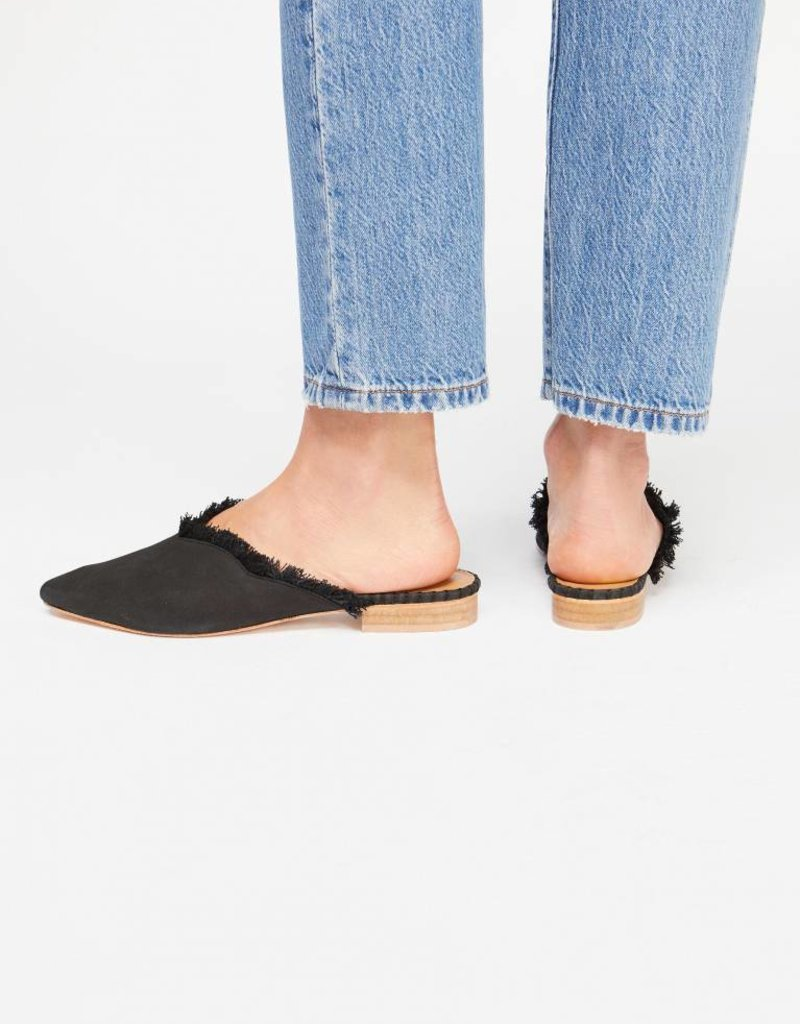 Free People Leather Newport Flat