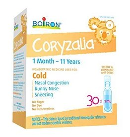 Boiron Coryzalia Children (liquid) - 30units