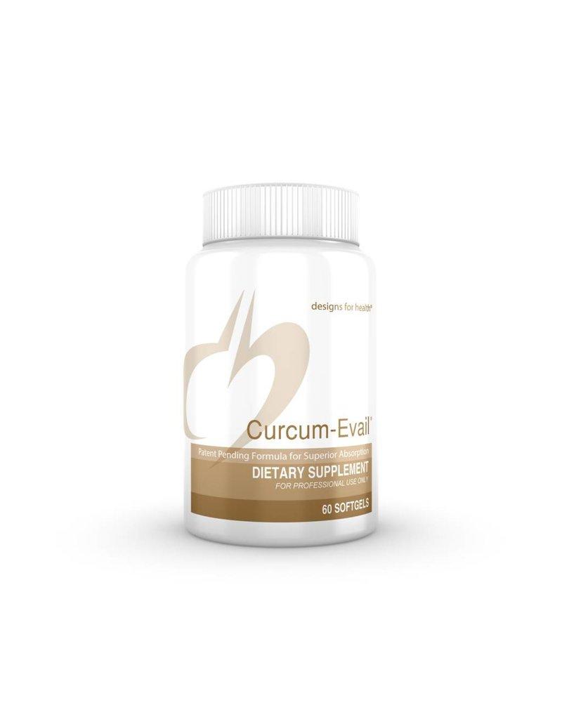 Designs for Health Curcum-Evail 60 caps