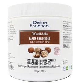 Divine Essence Organic Shea Butter 500g