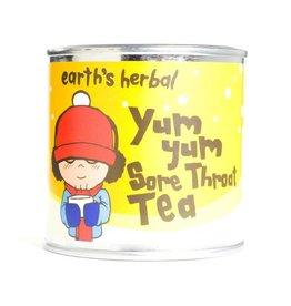 Earth's Herbal Products Inc. Yum Yum Sore Throat Tea