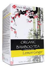 Uncle Lee's Tea Organic Lemon Ginger Bamboo Tea