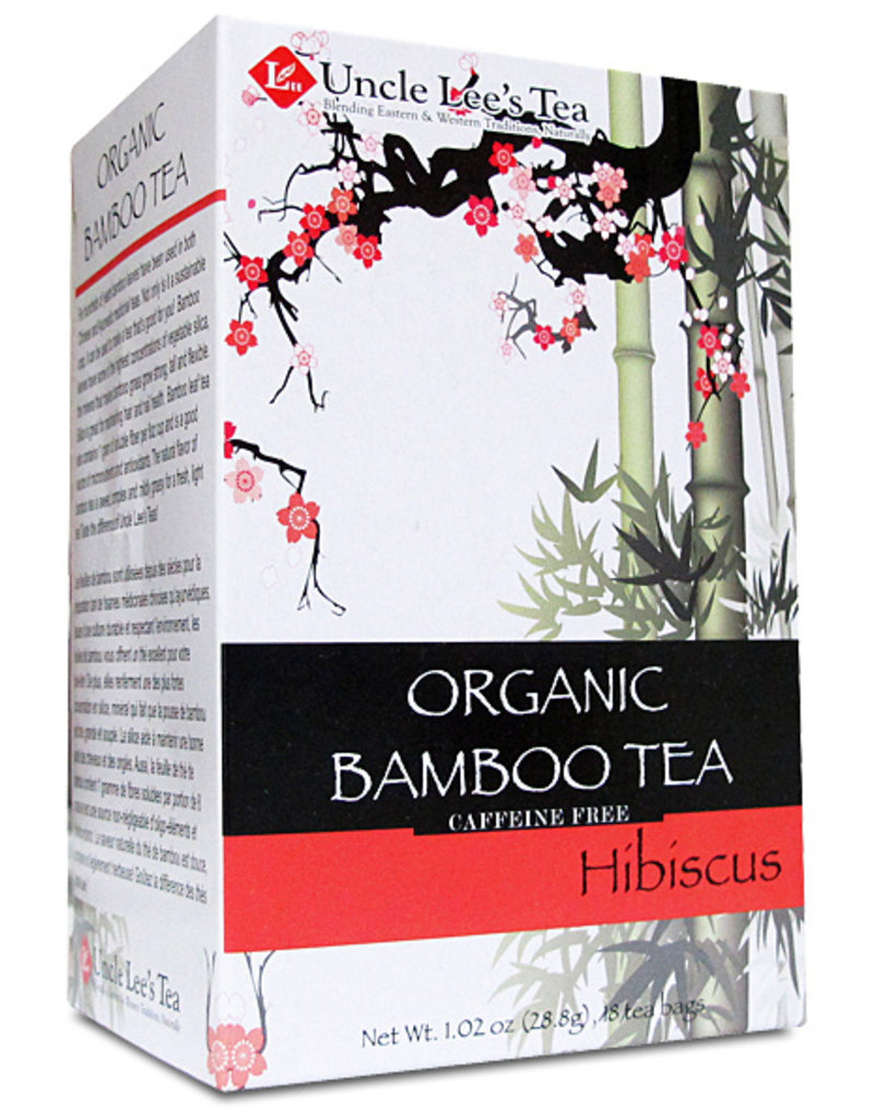 Uncle Lee's Tea Organic Hibiscus Bamboo Tea