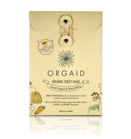 Orgaid Greek Yogurt Sheet Masks