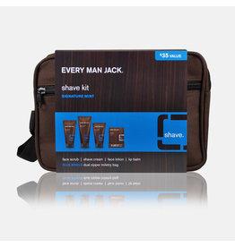 Every Man Jack Shave Kit | Signature (Canvas Bag)-1 un