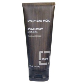 Every Man Jack Shave Cream Fragrance Free 200 ml