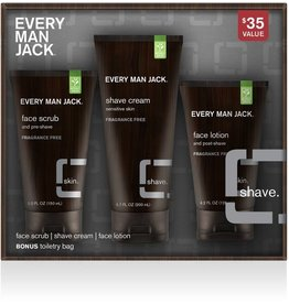 Every Man Jack Shave Kit Fragrance Free