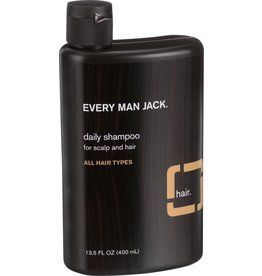 Every Man Jack Daily Shampoo All Hair Types Sandalwood 400 ml