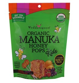 Wedderspoon Manuka Honey Pops 120g