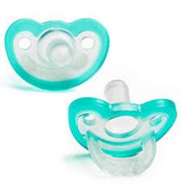 Raz Baby Jollypop + Pacifier 2pk 0-3m+ Soft Nipple