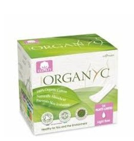 Organyc Liners Flat Packed Light Flow 24 ct.