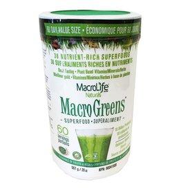 MacroLife Naturals Macro Greens Canister 567g