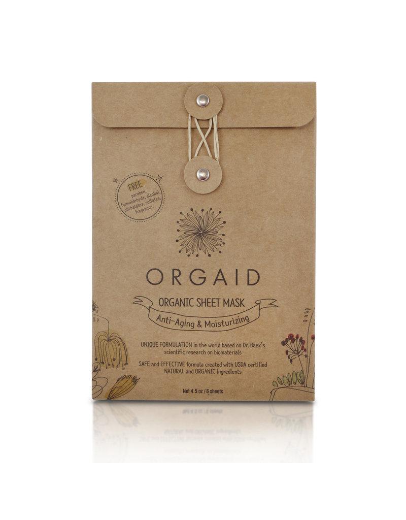Orgaid Anti-Aging Sheet Masks