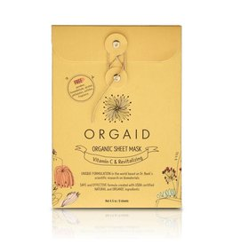 Orgaid Vitamin C Sheet Masks