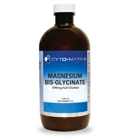 Cyto-Matrix Magnesium Biglycinate 300mg Full Chelate Unflavoured 450ml