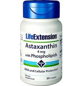 LifeExtension Astaxanthin with Phospholipids - 30 softgels