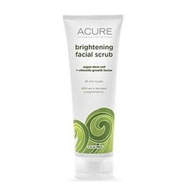 Acure Brightening Facial Scrub Argan Stem Cell + Chlorella 118 ml