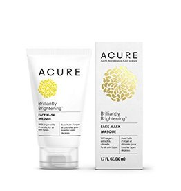 Acure Brightening Face Mask Argan Stem Cell + Chlorella 50 ml
