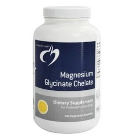 Designs for Health Magnesium Glycinate Chelate 120 caps