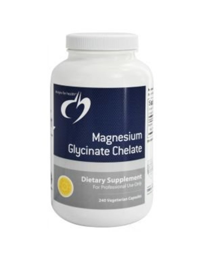 Designs for Health Magnesium Glycinate Chelate 120 caps