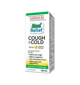 Homeocan Real Relief Cough & Cold Daytime 100 ml
