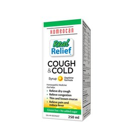 Homeocan Real Relief Cough & Cold-250 ml