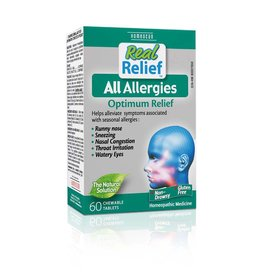 Homeocan Real Relief Allergy tablets-60 tabs