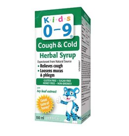 Homeocan Kids 0-9 Cough & Cold Herbal Syrup 100 ml.