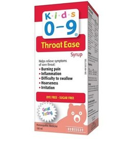 Homeocan Kids 0-9 Throat Ease Syrup 100ml