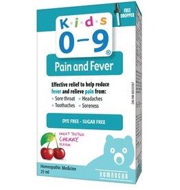 Homeocan Kids 0-9 Pain and Fever 25 ml