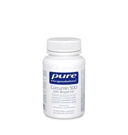 Pure Encapsulations Curcumin 500 with Bioperine 60 caps