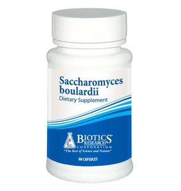 Biotics Research Saccharomyces boulardii 60 caps