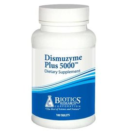 Biotics Research Dismuzyme Plus 5000 100 cap