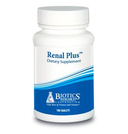 Biotics Research Renal Plus (Kidney Support wGlands) 180 tab
