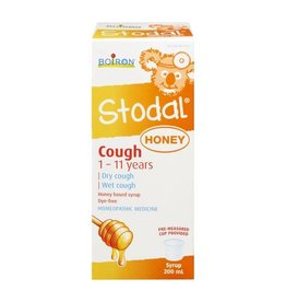 Boiron STODAL Cough Honey Syrup 1-11 years 200ml