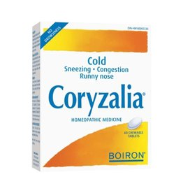 Boiron CORYZALIA cold 60 chewable tablets***