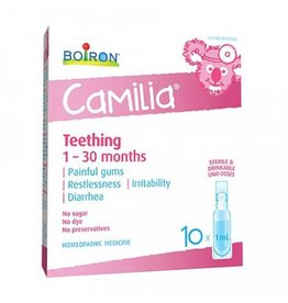 Boiron CAMILIA teething 1-30 months 30 units